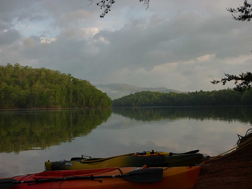 Lake Santeetlah Paddle Camp Trip Report Tennessee