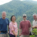 Left to Right: Tim McClain, Xiaofang Dong, William Werner, Vic Hasler