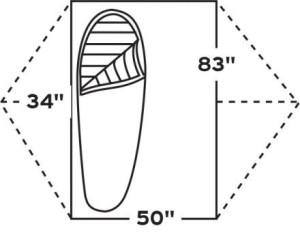 HT7 Kelty TraiLogic TN2 footprint